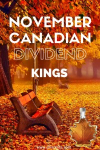 THE BEST CANADIAN DIVIDEND STOCKS FOR NOVEMBER 2016
