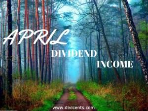 Dividend Income – April 2017