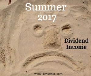 Dividend Income – June, July and August all rolled into one ball of greatness