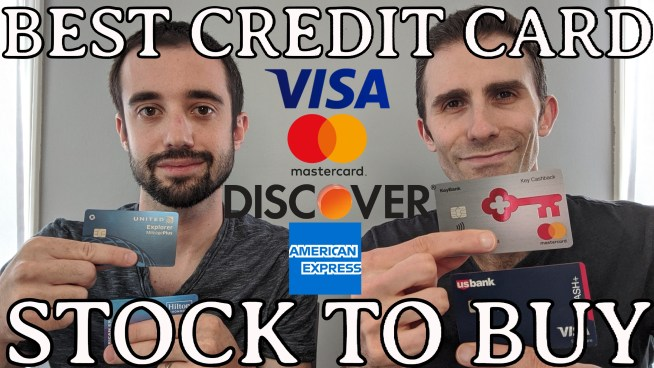 best credit card stock to buy