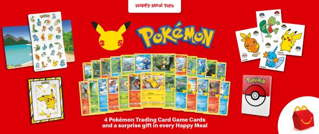 Pokemon Cards 25th Anniversary