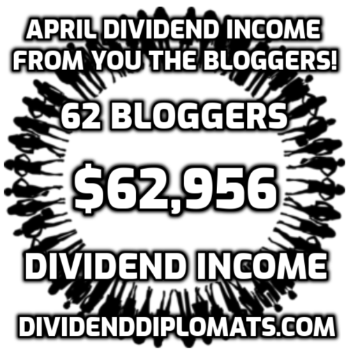 Dividend Income from YOU the Bloggers! – April 2021
