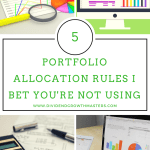 5 Portfolio Diversification Rules I Bet You're Not Using