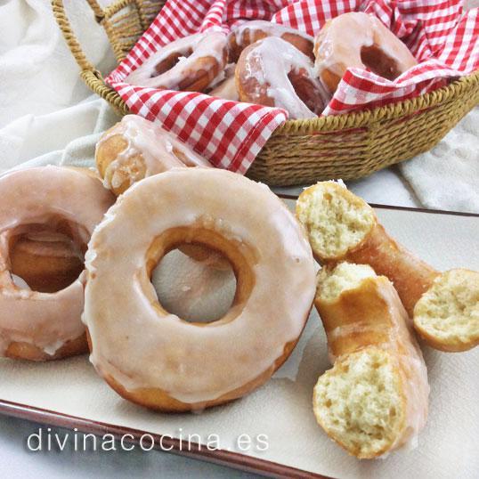 donuts caseros Donuts caseros