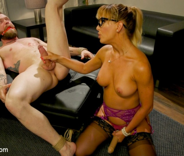 Executive Discipline Cherie Deville Humiliates Her Boss Mike Panic