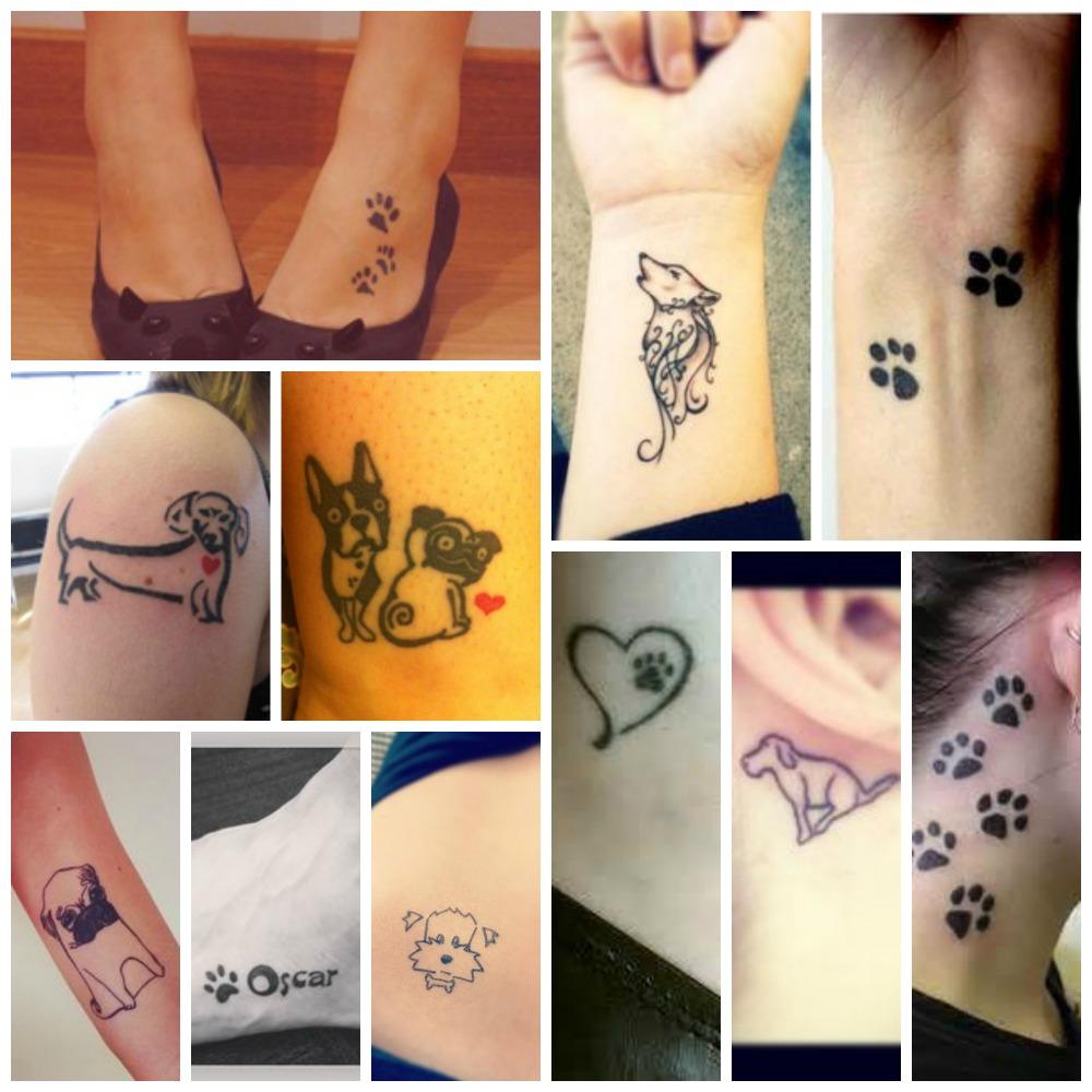 Tatuajes perrunos: el mejor homenaje a tu perro