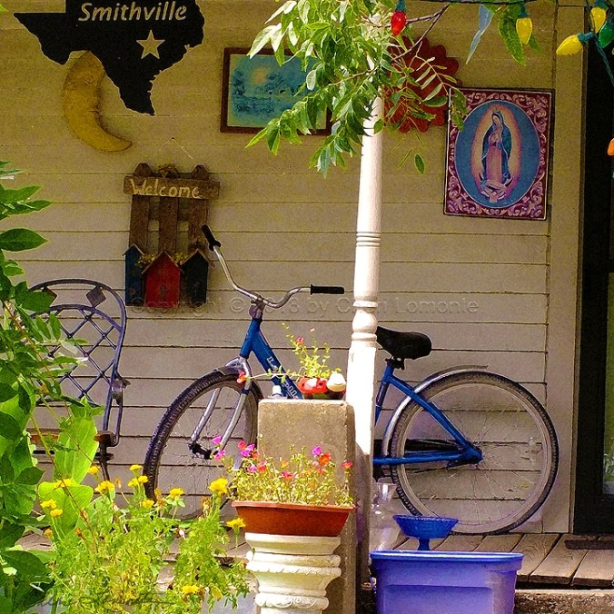 Porch 2 - Blue Bike