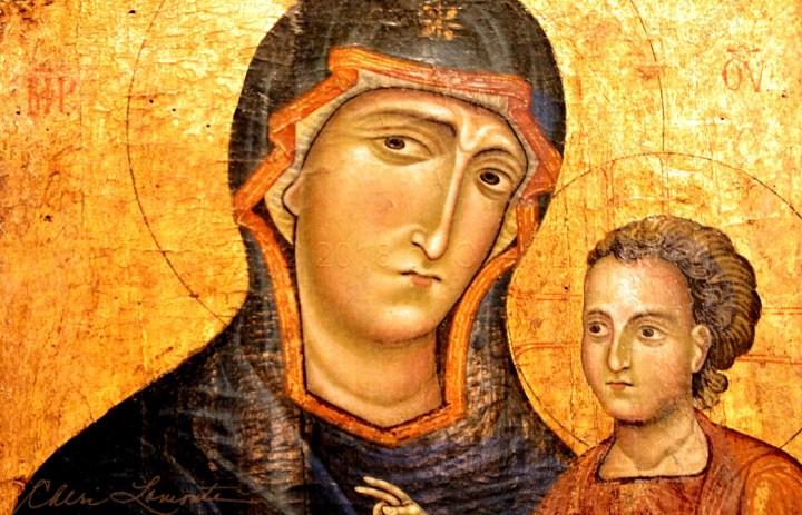 Mary and Jesus II - Explore Sacred Art Photograph by Cheri Lomonte