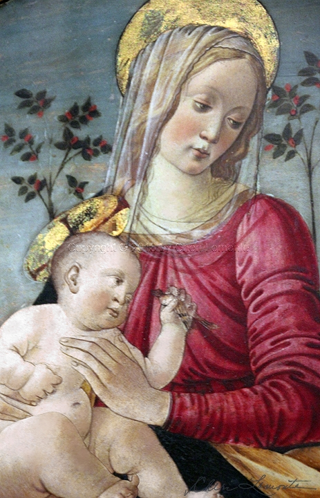 Mother and Child - Florence - Sacred Art Photograph by Cheri Lomonte