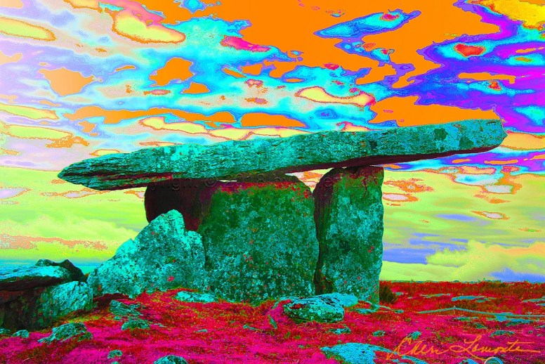 Irish stonehenge art