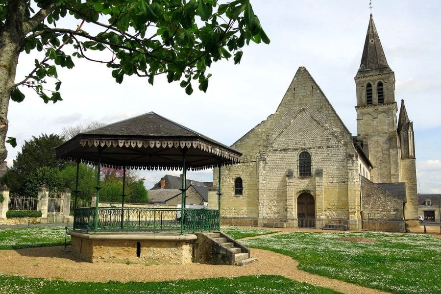Wine tasting in Bourgueil - Saint-Martin Church in Restigné @Spencer Means