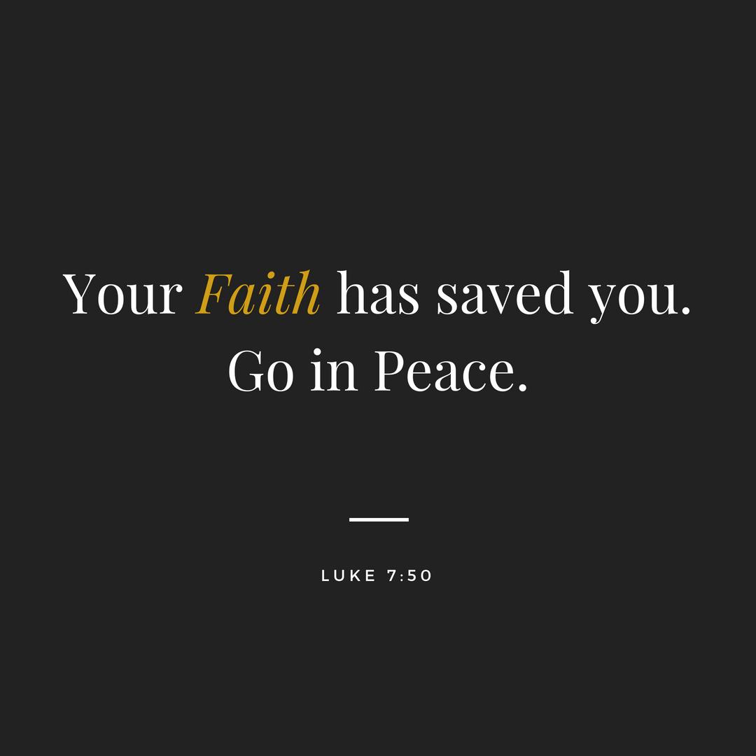 Faith is bigger than Fear