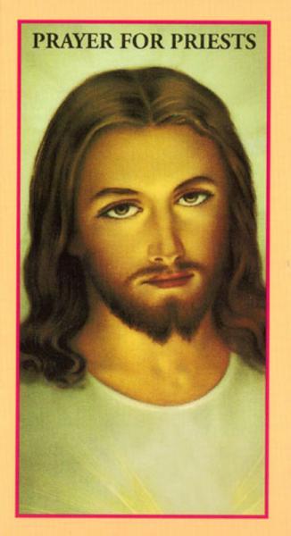 Prayer Cards Prayer For Priests