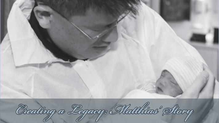 Creating a Legacy: Matthias' Story