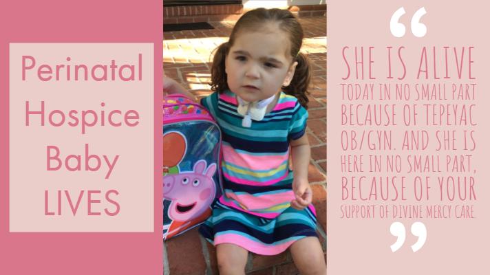 Perinatal Hospice Baby LIVES