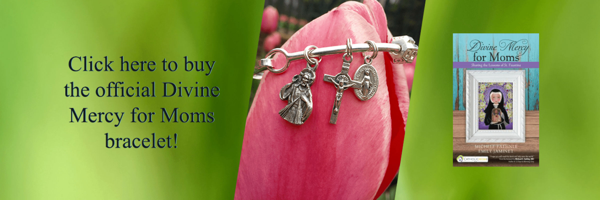Divine Mercy for Moms Prayer Bracelet shop now
