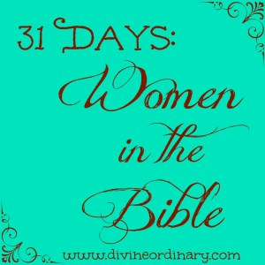 women of bible button