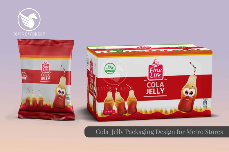 Metro Fine Cola Candy Packaging Design By Divine Works