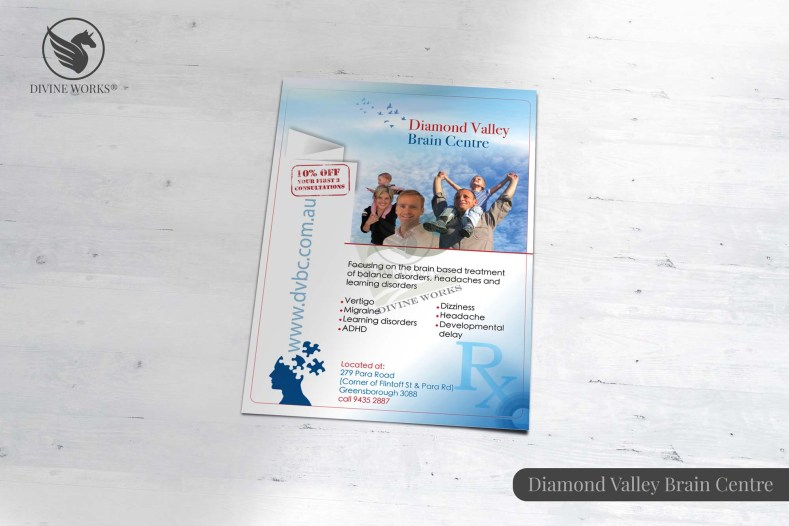 Diamond Valley Brochure Design By Divine Works