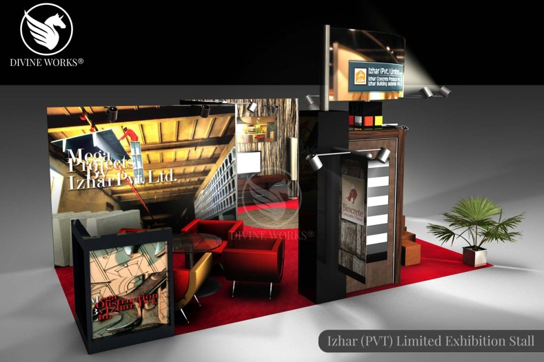 Izhar Exhibition Stall Design By Divine Works