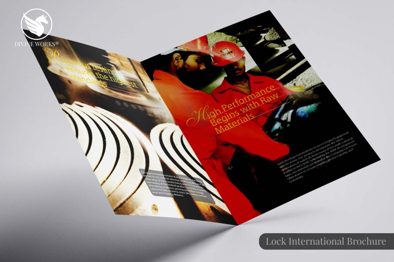 Lock International Brochure Design By Divine Works