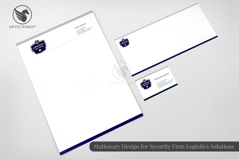 Logistics Solutions Stationary Design By Divine Works