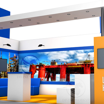 Exhibition Stall Design Services by Divine Works