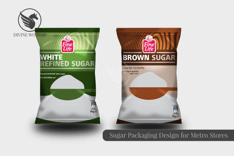 Metro Sugar Packaging Design By Divine Works
