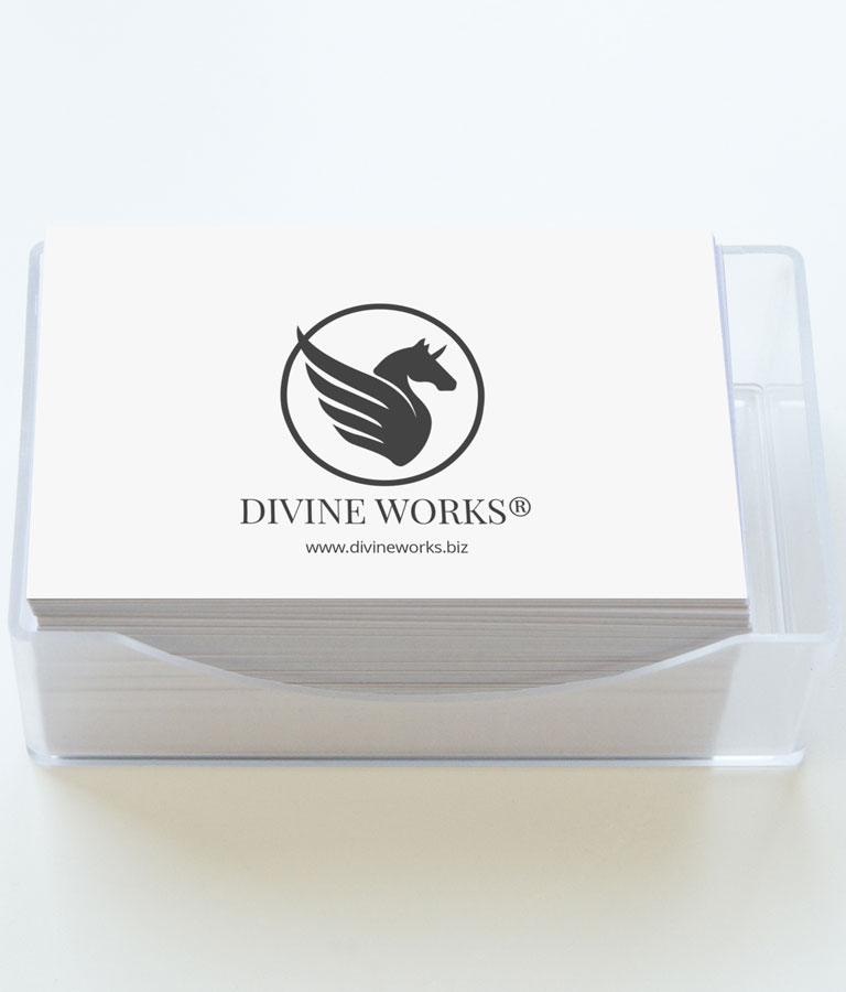 Business Cards Mockup by Divine Works
