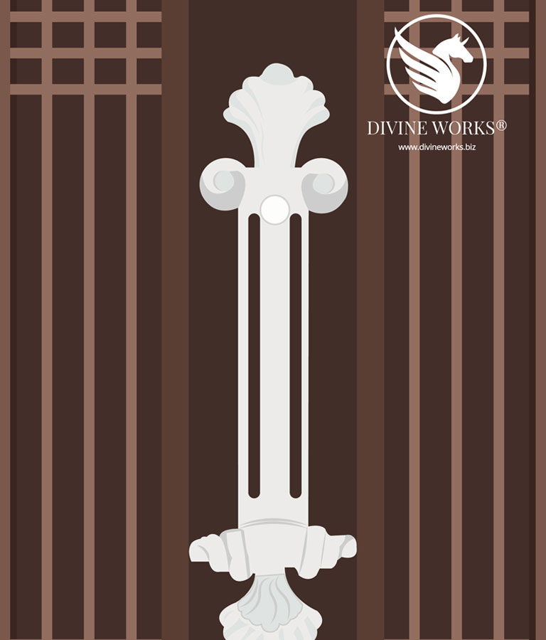 Gate Vector Illustration by Divine Works