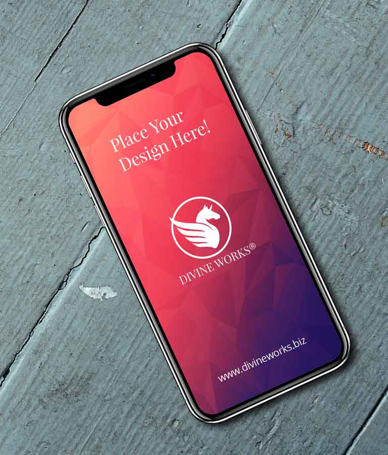 Free iPhone XS Mockup by Divine Works