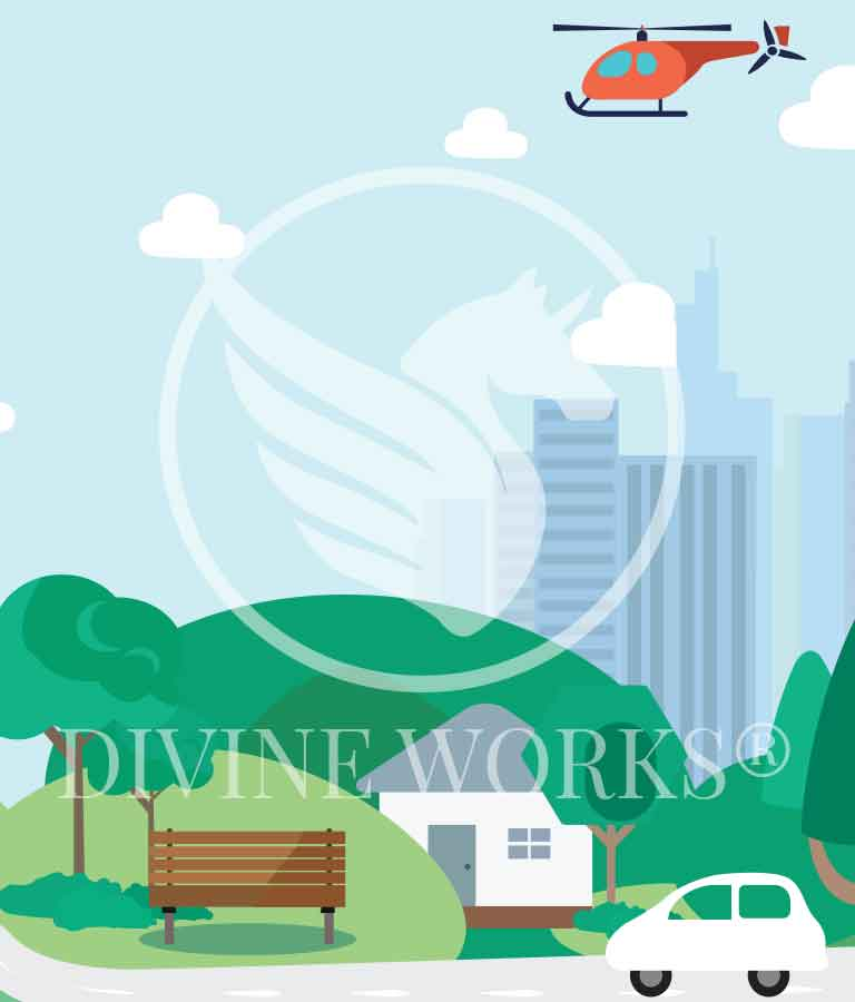 Free Adobe Illustrator Environment Vector Illustration by Divine Works