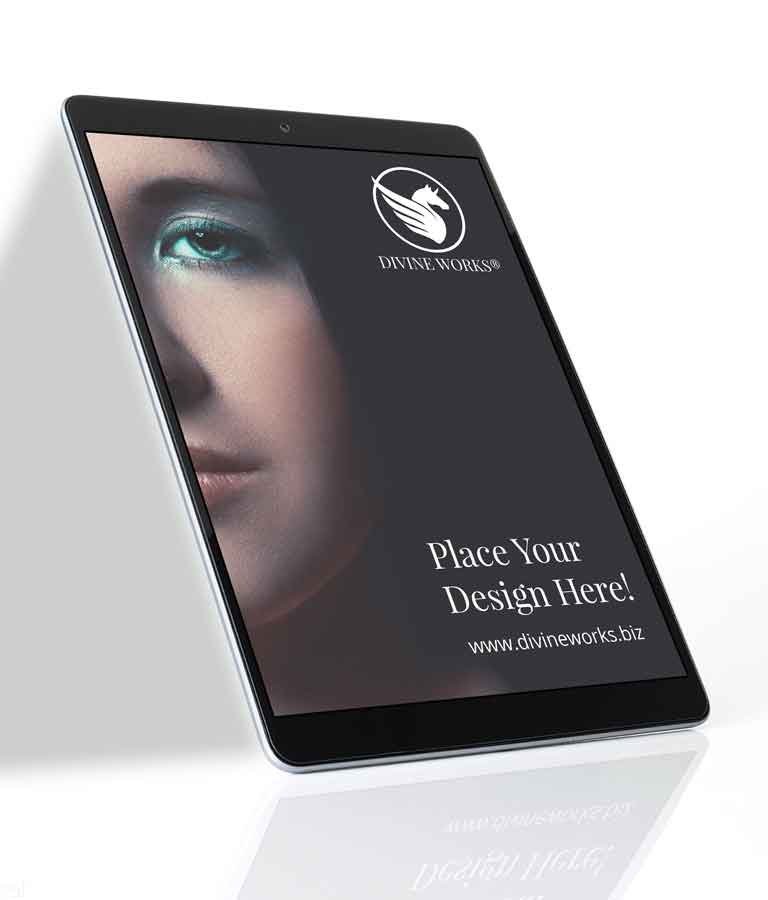 Free Floating iPad Mockup by Divine Works