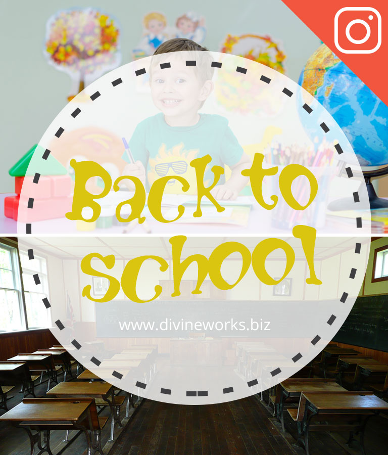 School Instagram Post Templates by Divine Works