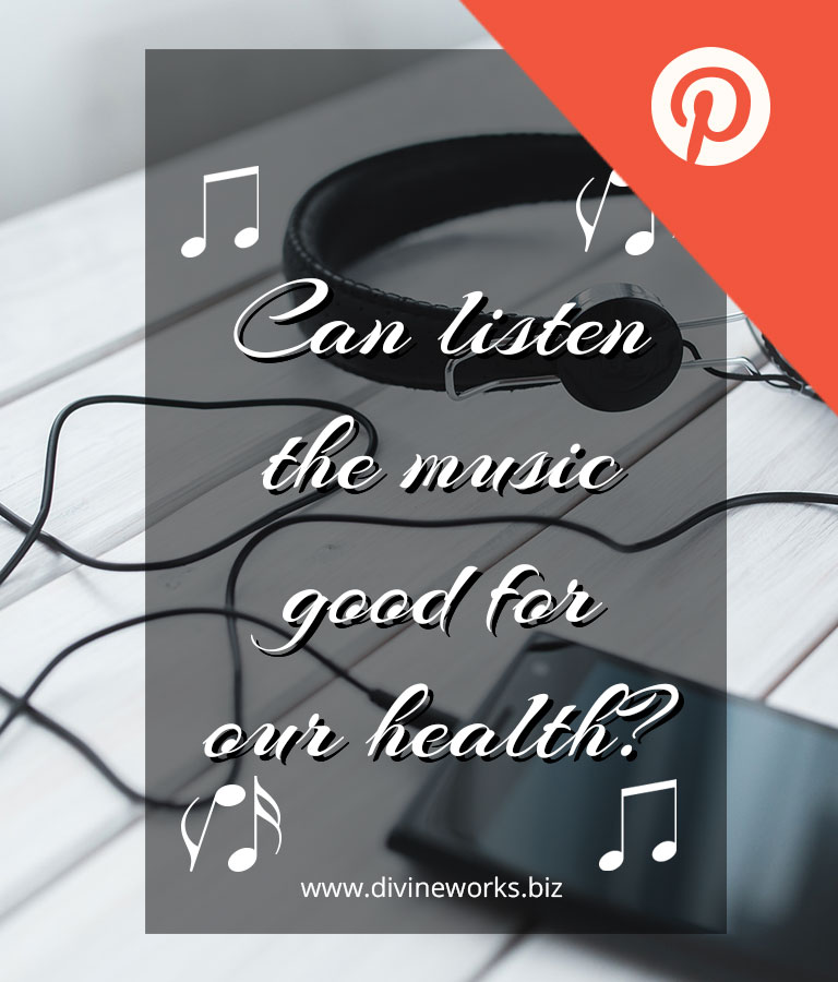 Free Music Pinterest Post Templates by Divine Works