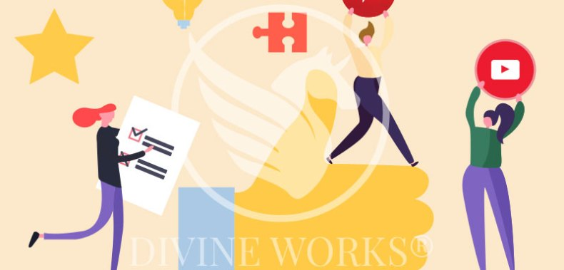 Free Adobe Illustrator Marketing Tips Vector Illustration by Divine Works