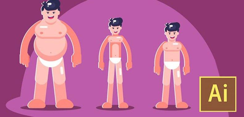 Learn Illustrator CC: Create Simple Flat Vector Characters