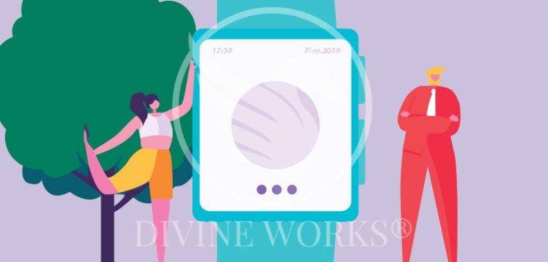 Free Adobe Illustrator SmartWatch Vector Illustration by Divine Works