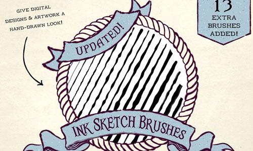The Illustrator Brushes Mega Bundle - Divine Works