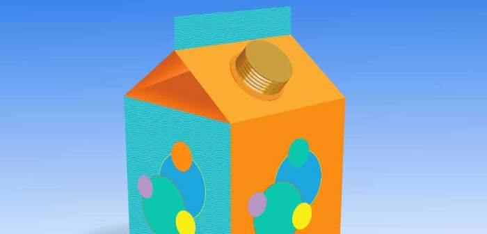 Free Juice Box Vector Illustration