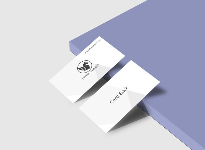 Download Free Branding Business Card Mockup PSD by Divine Works