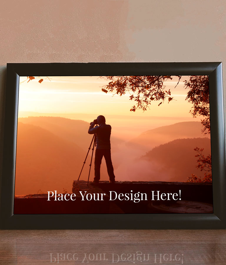 Download Free Picture Frame Mockup PSD by Divine Works