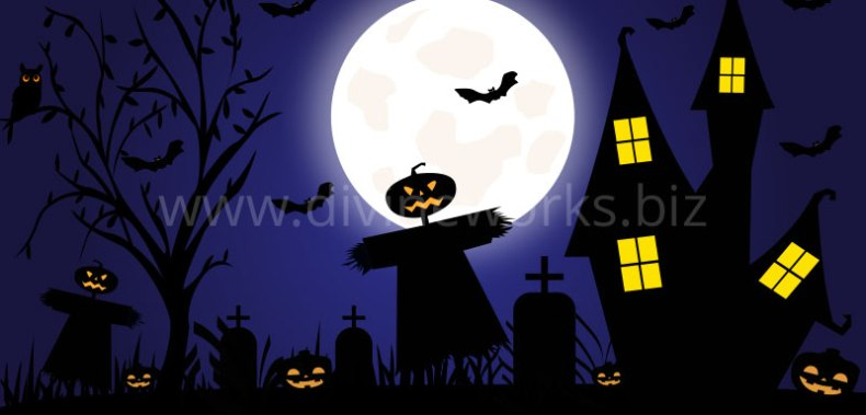 Download Free Scary Halloween Vector Art by Divine Works