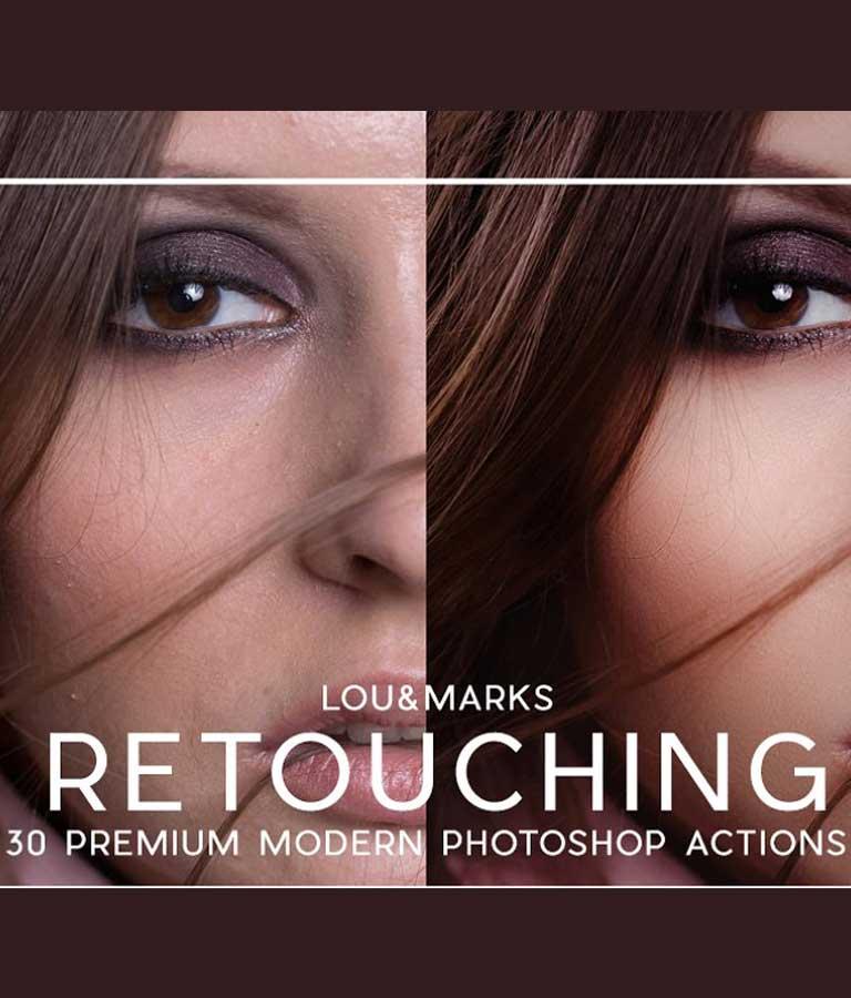 30 Pro Portrait Retouching Actions