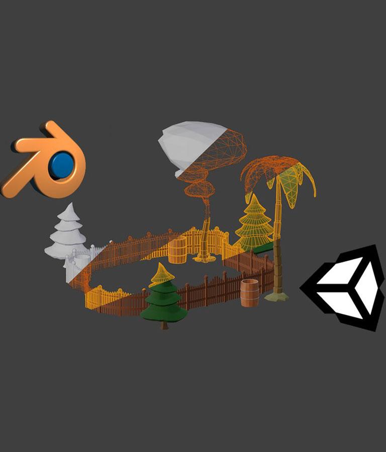 3D Modeling in Blender 2.8 for Unity Video Game Developers
