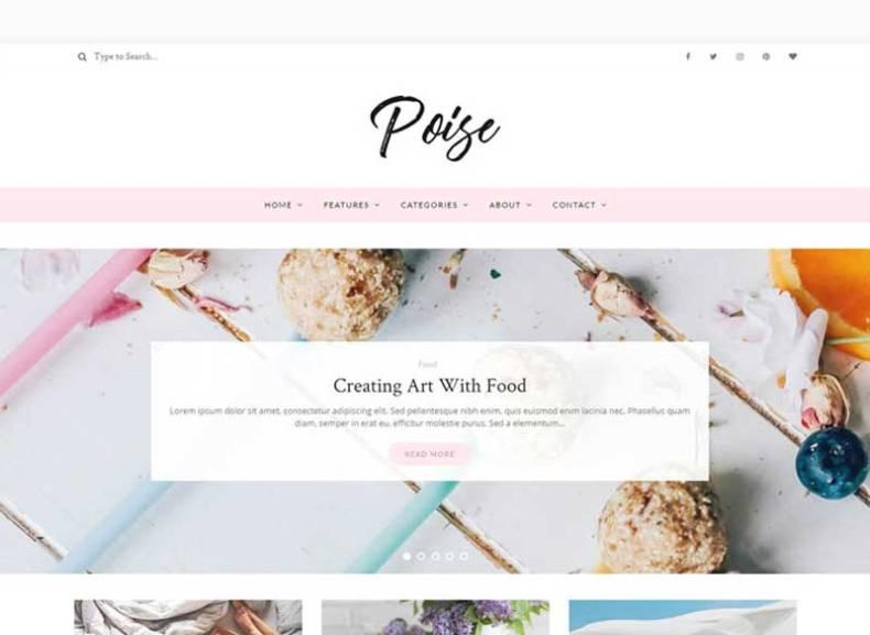 Poise WordPress Blog Theme