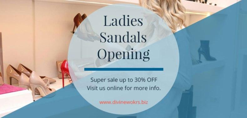 Download Ladies Sandals Social Media Template Set by Divine Works