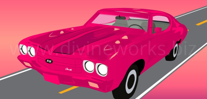 Download Free 1970 Chevrolet Chevelle SS Car Vector by Divine Works