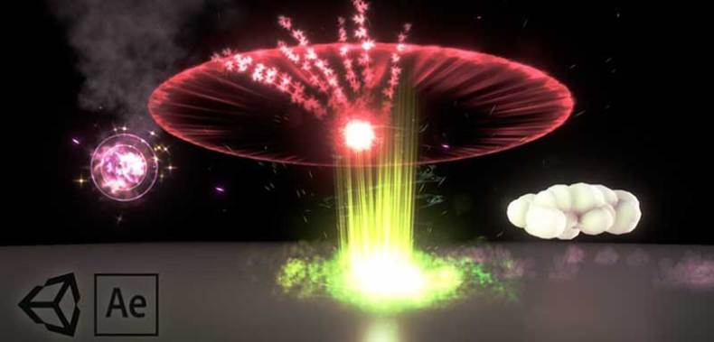 Advanced Particle VFX in Unity and After Effects