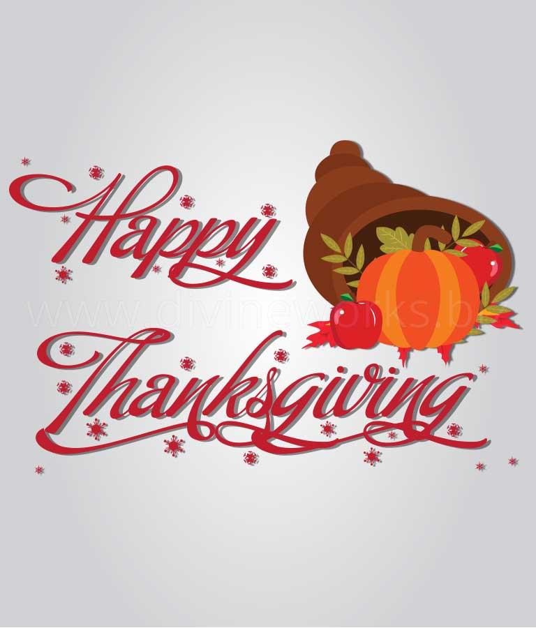 Thanksgiving Art Illustration